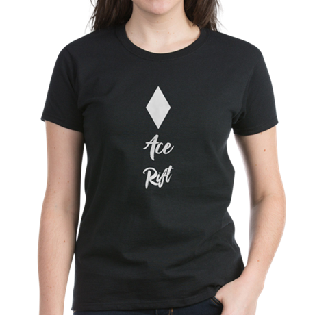 Ace Rift Black Women's T-Shirts